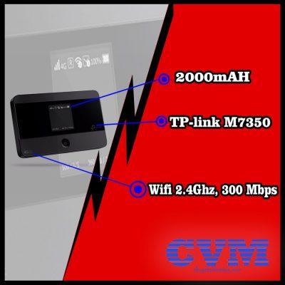 cuc phat wifi 4g TL-M7350 tplink gia re