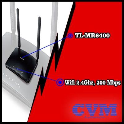 bộ phát wifi 4g TL-MR6400 tplink giá rẻ