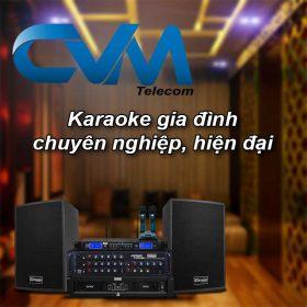dan karaoke chuyen dung cho gia dinh