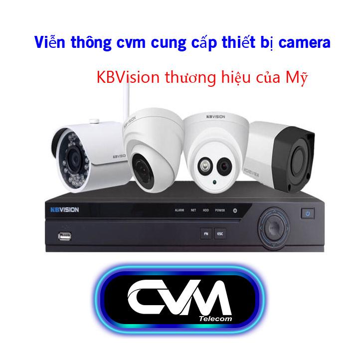 lắp camera KB Vision tại nha trang