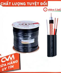 Cáp đồng trục Golden Link RG6+2DC