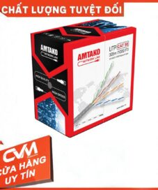 Dây cáp mạng AMTAKO Cat5e 5333